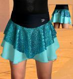 Závodní sukně na krasobruslení