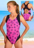 Dívčí plavky jednodílné