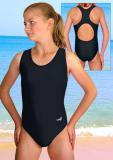 Dívčí sportovní plavky jednodílné-velikost 150