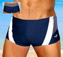Pánské plavky s nohavičkou bokové - zvětšit obrázek