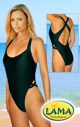 Dámské plavky s køížem èerné vel. S a XL - zvìtšit obrázek