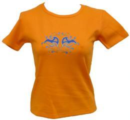 Dámské streèové trièko s potiskem