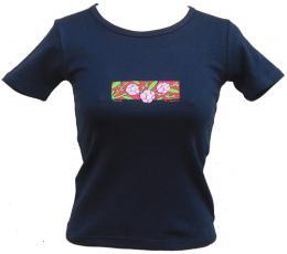 Dámské streèové trièko s potiskem Sakura