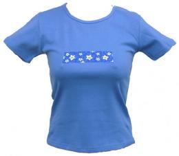 Dámské streèové trièko s potiskem Jasmín