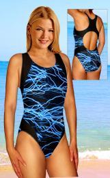 Plavky jednodílné se vzorem - zvìtšit obrázek