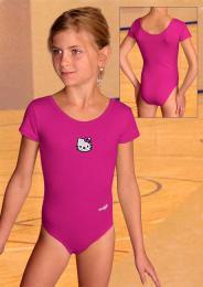 Gymnastický dres s velmi krátkým rukávem - zvìtšit obrázek