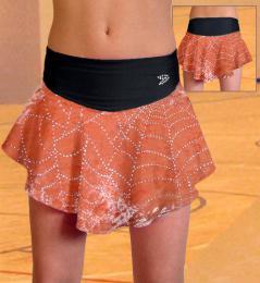 Závodní suknì na krasobruslení
