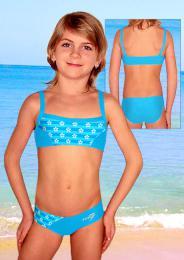 Dívèí plavky dvojdílné