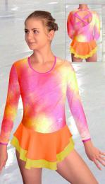 Šaty krasobruslařské - trikot - zvětšit obrázek