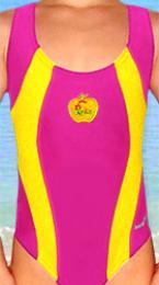 Dívèí plavky jednodílné vel. 110