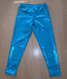 Legíny superlesklé tøpitivé modré vel. 110 - ihned k odeslání