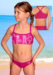 Dívèí plavky dvojdílné - vel.150 ihned k odeslání