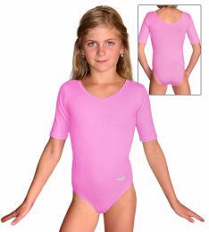 Gymnastický dres s krátkým rukávem