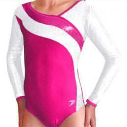 Gymnastický dres závodní vel. 160-Ihned k odeslání - zvětšit obrázek