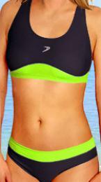 Dámské sportovní plavky - vel. XL,M - ihned k odeslání