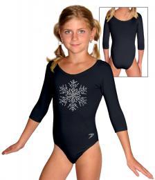 Gymnastický dres závodní vel.150 -Ihned k odeslání-èervený
