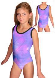 Gymnastický dres závodní vel. 160 -Ihned k odeslání - zvětšit obrázek