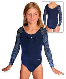Gymnastický dres závodní vel. 140 -Ihned k odeslání - zvìtšit obrázek