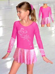 Krasobruslařské šaty - trikot - zvětšit obrázek