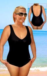 Dámské jednodílné plavky s kosticemi vel. XXL -ihned k odeslání