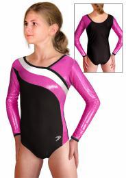 Gymnastický dres závodní vel. 140 -Ihned k odeslání