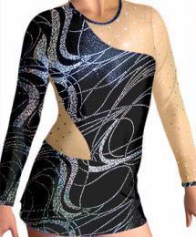 Dres na moderní gymnastiku - trikot vel.150 ihned k odeslání