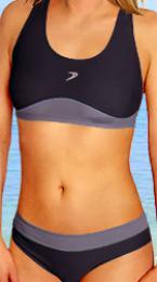 Dámské sportovní dvoudílné plavky vel. XL- ihned skladem