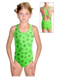 Dívèí plavky jednodílné