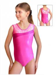 Gymnastický dres závodní vel. 110 -Ihned k odeslání