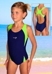 Dívèí jednodíloné plavky- vel. 160 ihned k odeslání