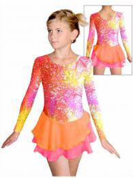 Krasobruslaøské šaty - trikot