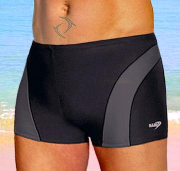 Pánské plavky s nohavičkou dvoubarevné - Lama-shop.cz cfc69d85bf